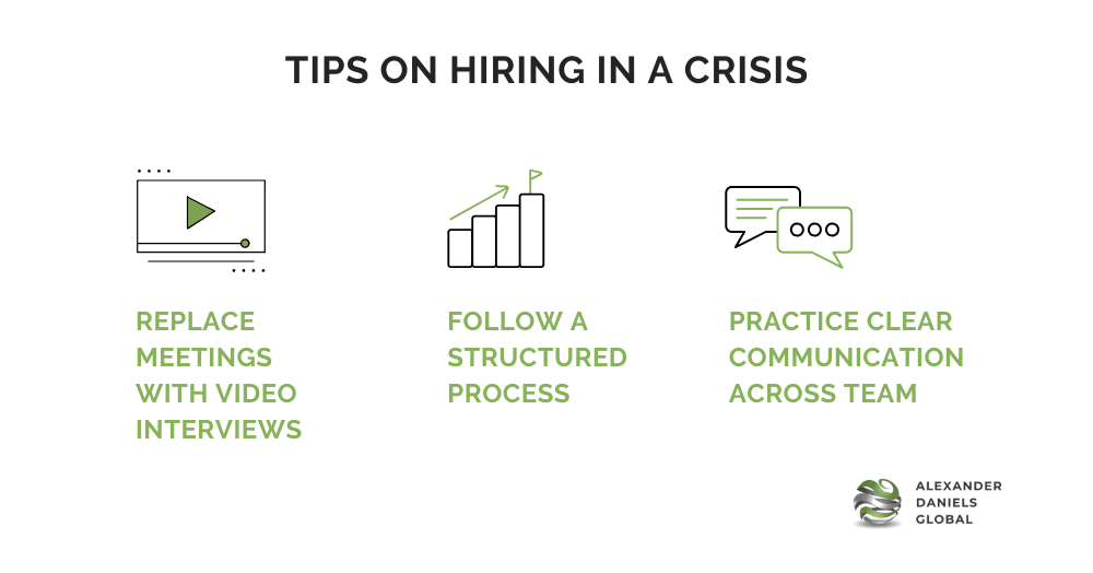 Hiring in a crisis